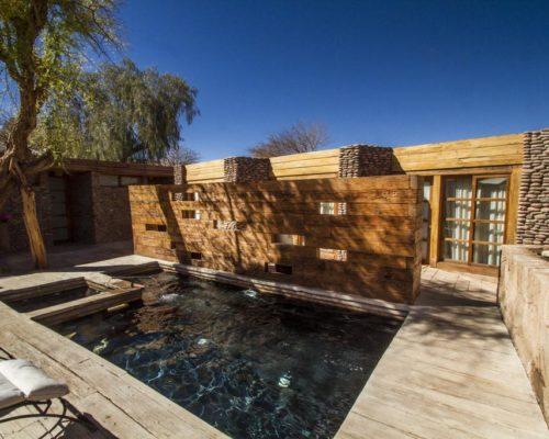 Terrantai Lodge Andino Buiten Zwembad