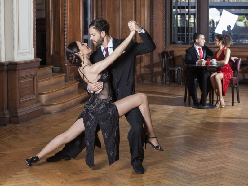 Reizen Door Argentinië Buenos Aires Tango