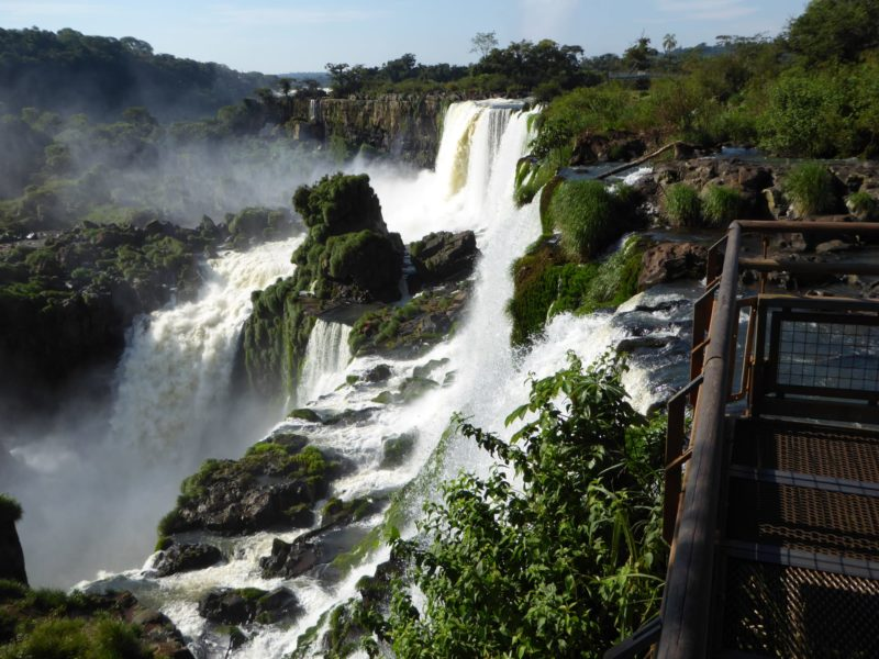 Iguazu Watervallen Argentijnse Zijde