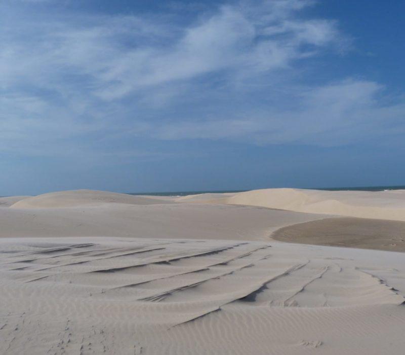 Zandduinen In Noord Brazilië