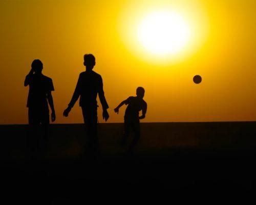 Brazilie kinderen voetbal