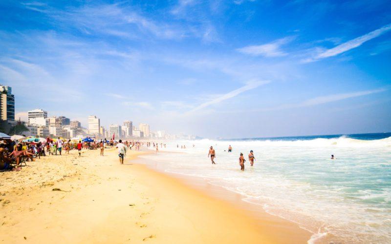Strand In Rio De Janeiro