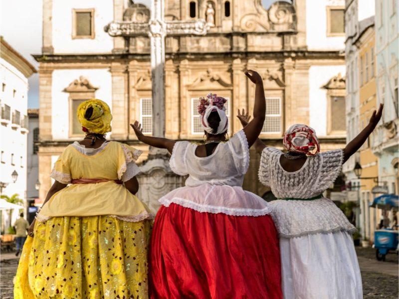Reizen Door Brazilië Salvador De Bahia