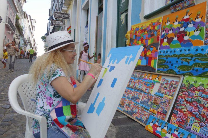 Schilderen In Salvador De Bahia