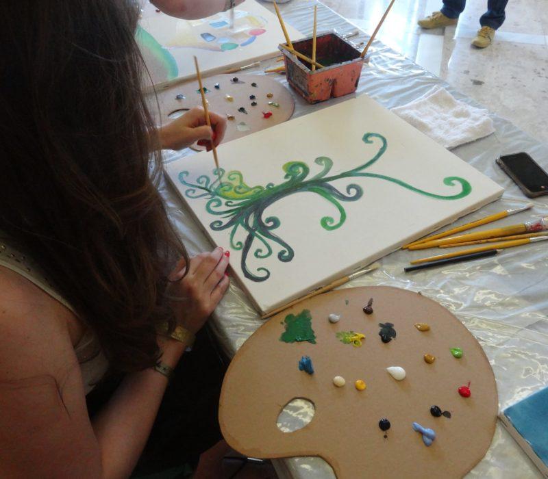 Kunstworkshop In Brazilië