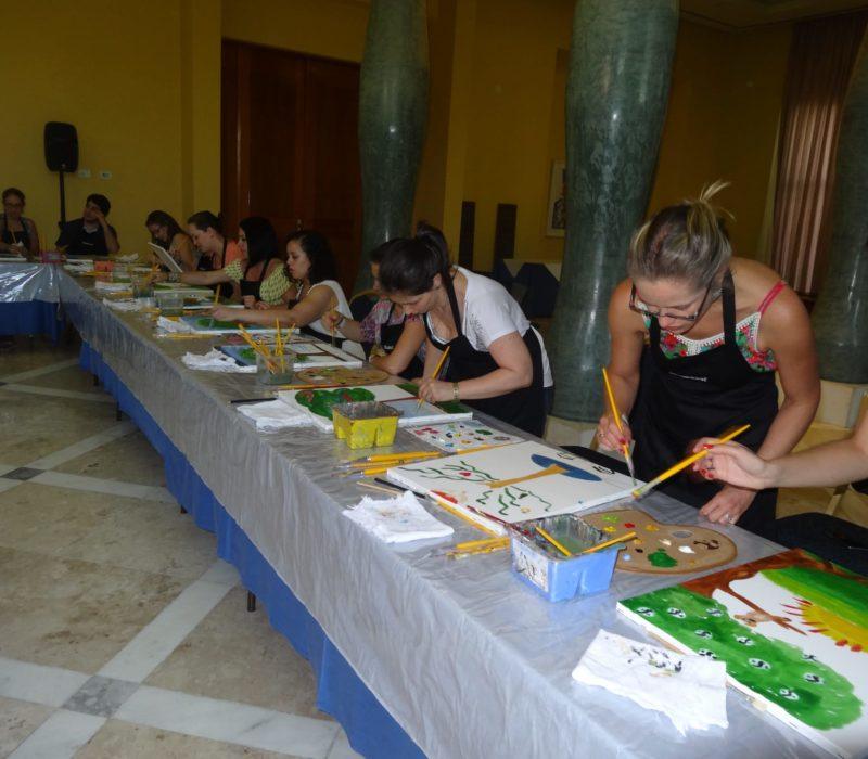 Kunstworkshop In Brazilië In Salvador