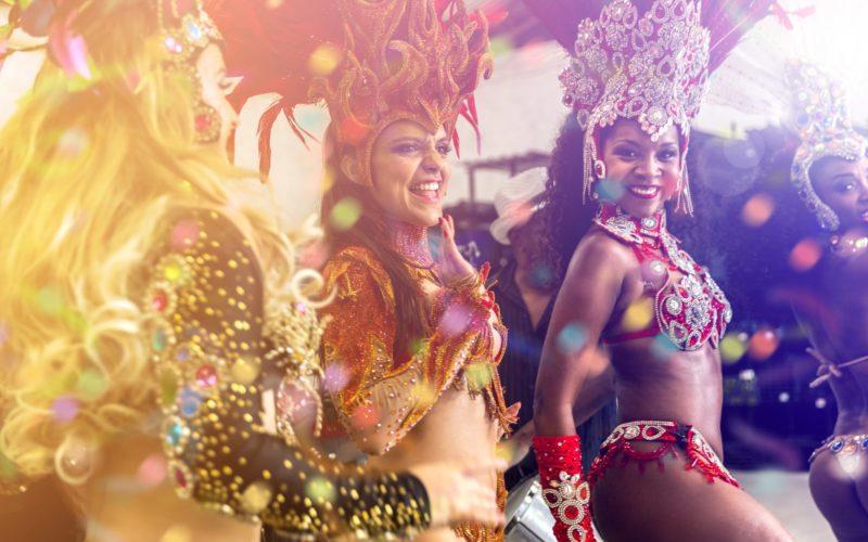 Feest Met Carnaval In Rio