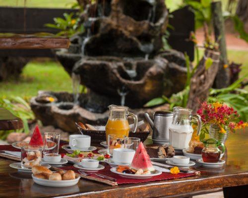 Heerlijk Vers Ontbijt Bij De Araras Ecolodge