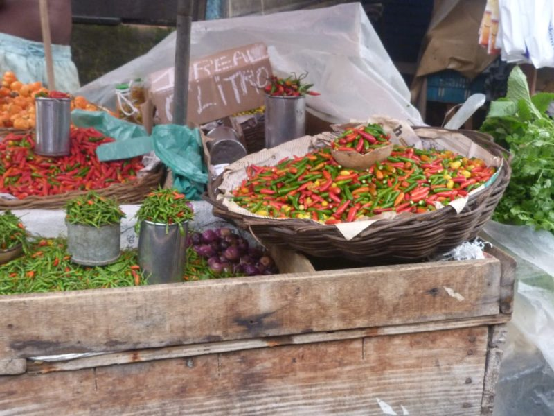 Lokale Markt In Salvador De Bahia
