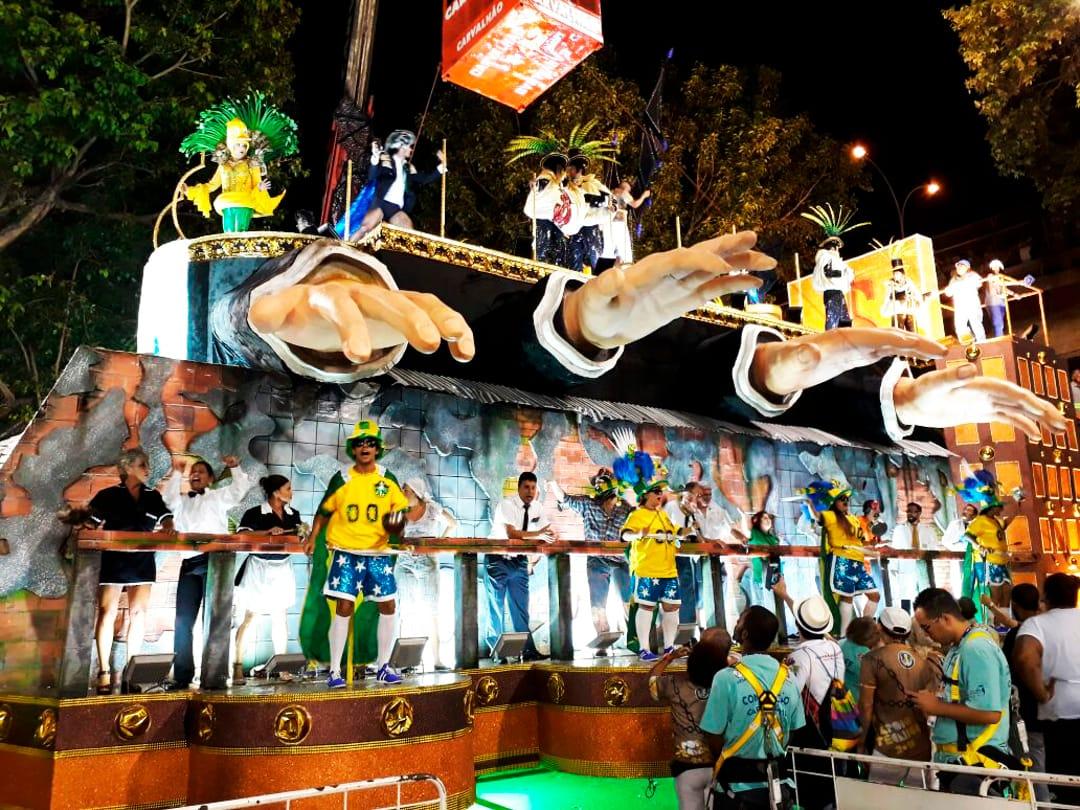 Praalwagens Carnaval Rio De Janeiro