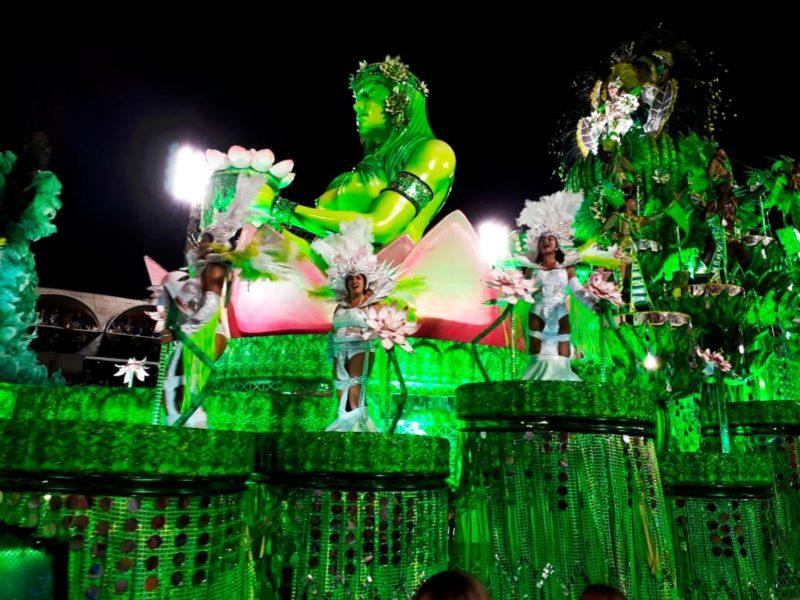 Brazilië Carnaval Praalwagen