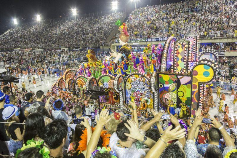 Sambadrome In Rio De Janeiro