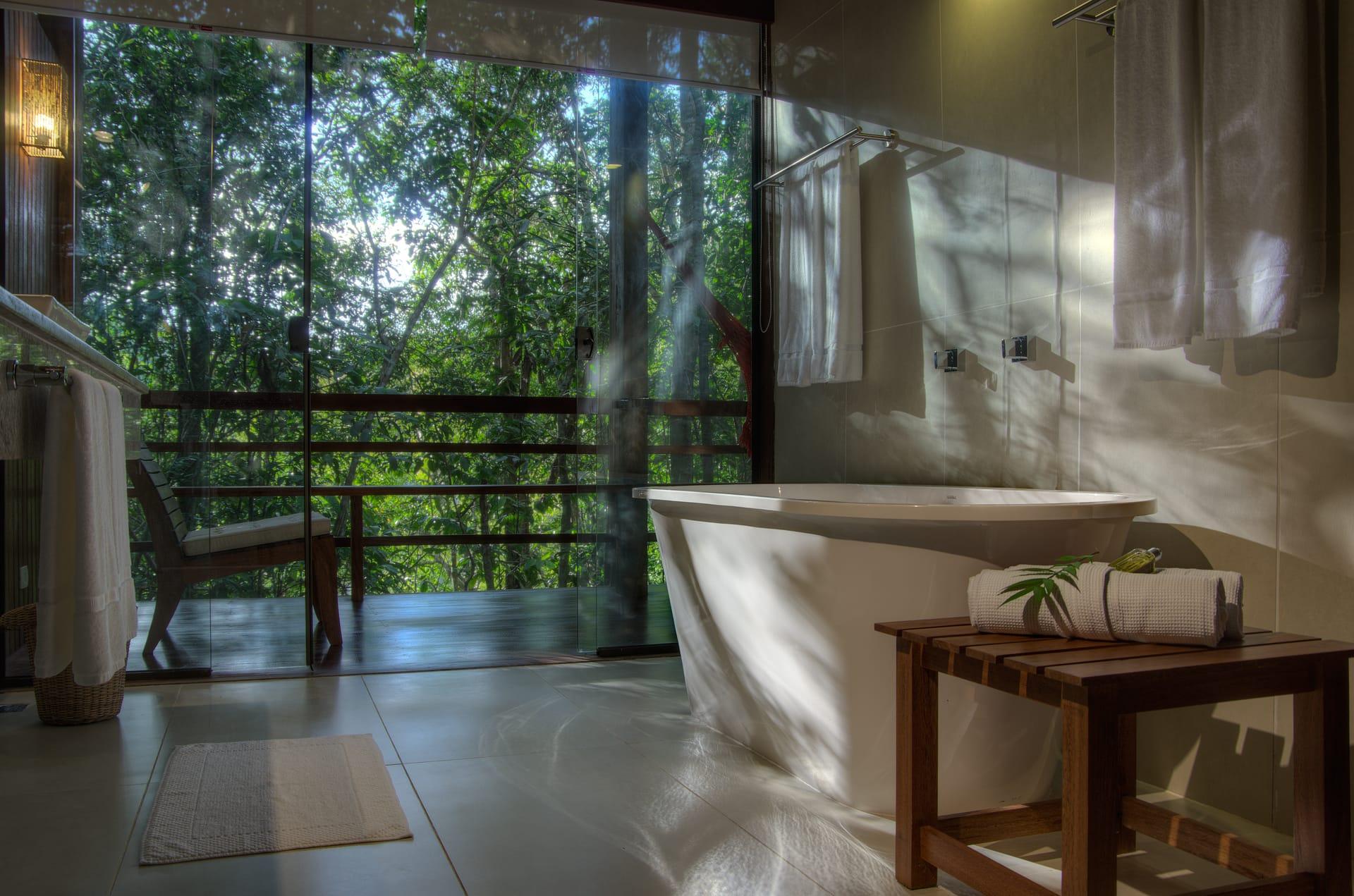Badkamer Anavilhanas Lodge