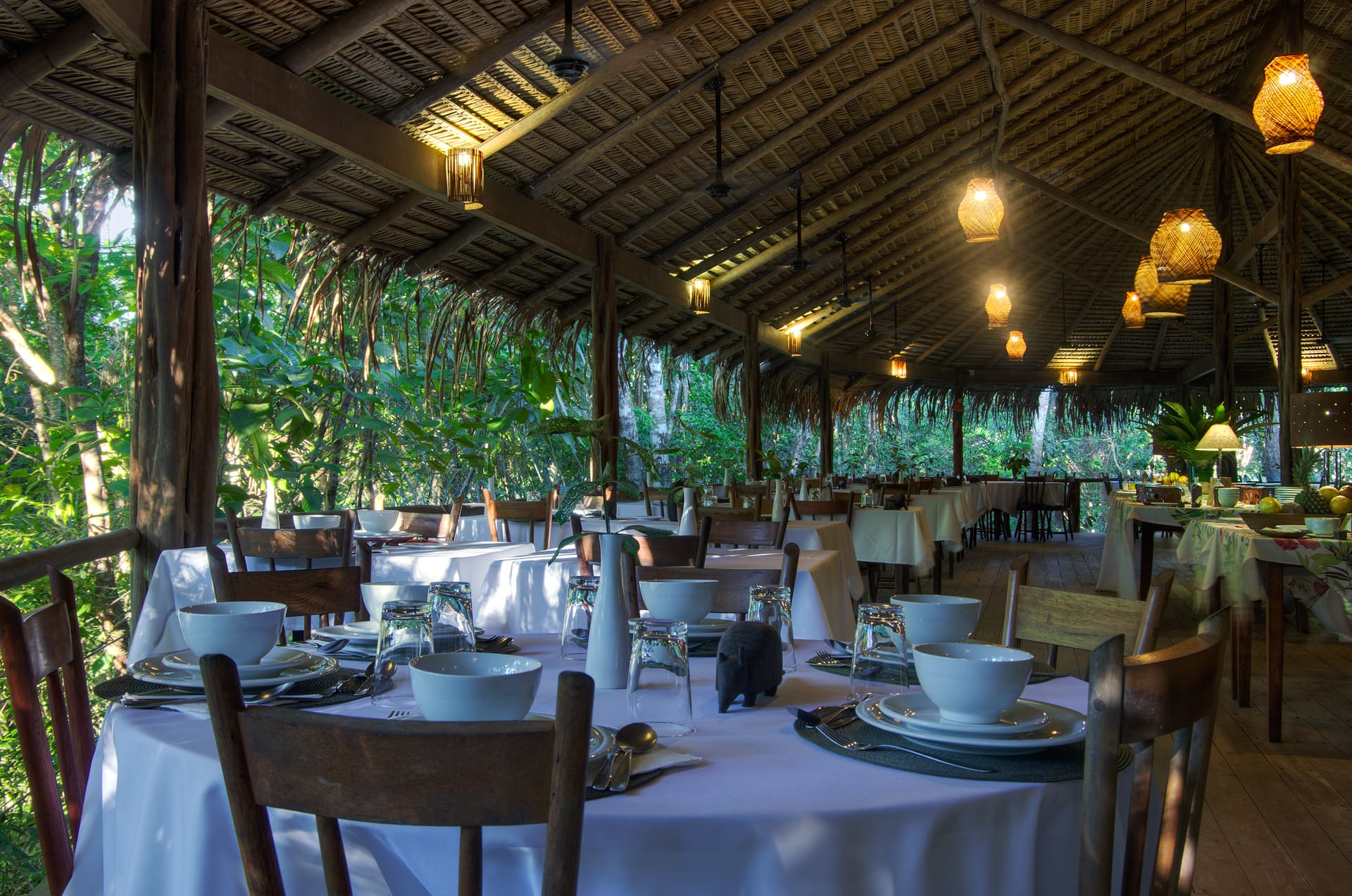 Restaurant Anavilhanas Jungle Lodge