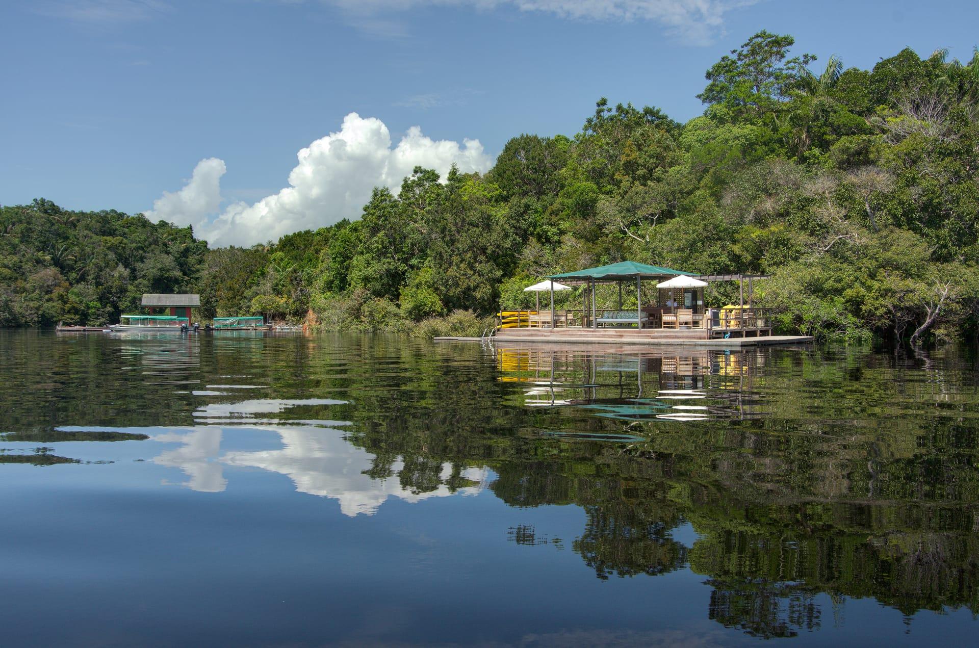 Anavilhanas Jungle Lodge aan de Rio Negro