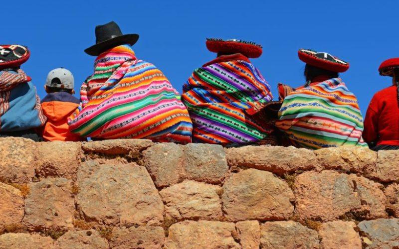 Locals In Peru