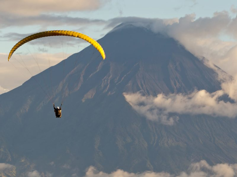 Paragliding Tungurahua