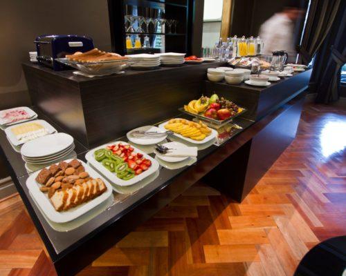Ontbijt Buffet In Dit Boutique Hotel In Santiago
