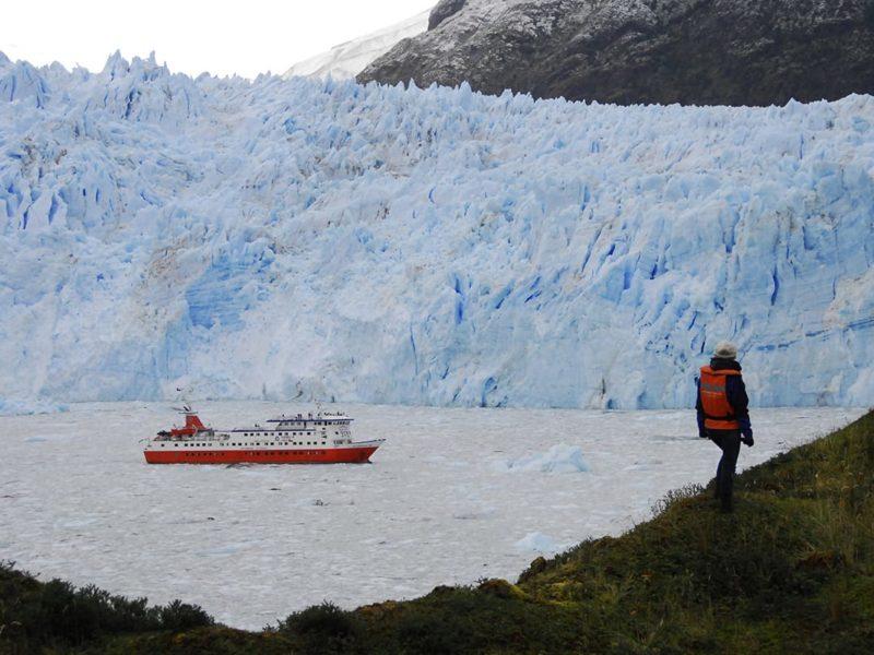 Chili Patagonië Skorpios Cruises Gletsjer