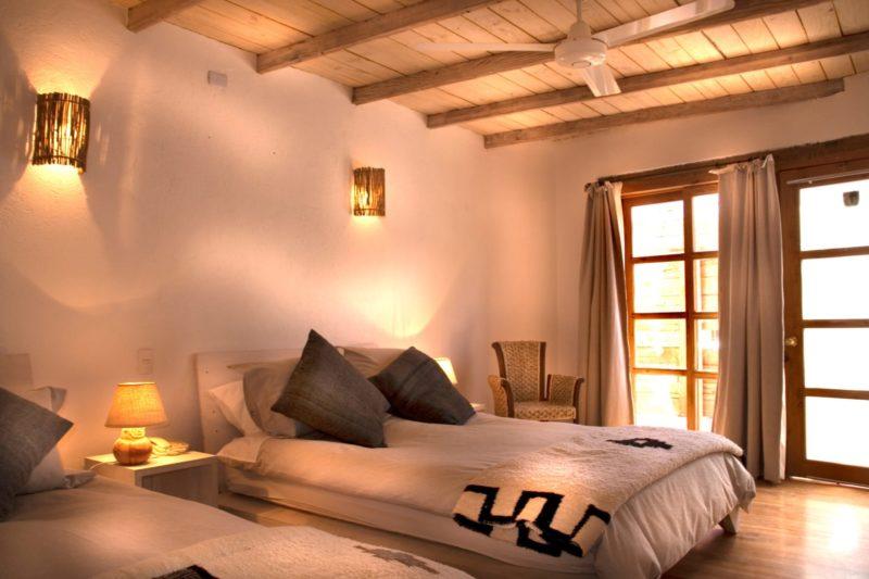 Tweepersoonskamer Terrantai Lodge Andino
