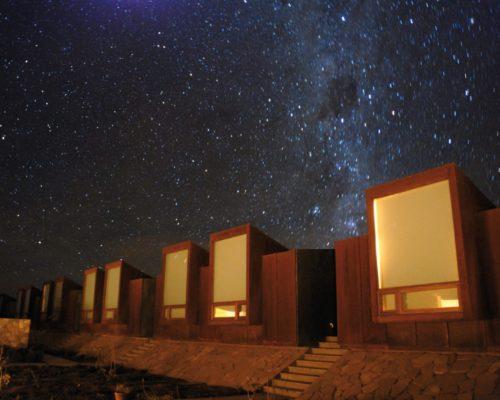 Heldere Sterrenhemel In De Atacama Woestijn