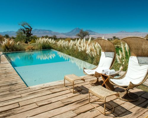Luxe Reis Chili Tierra Atacama Hotel & Spa Zwembad