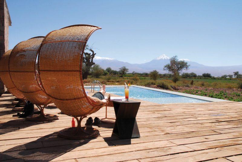Tierra Atacama Relaxen Aan Het Zwembad