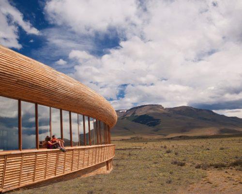 Tierra Patagonia In Het Landschap