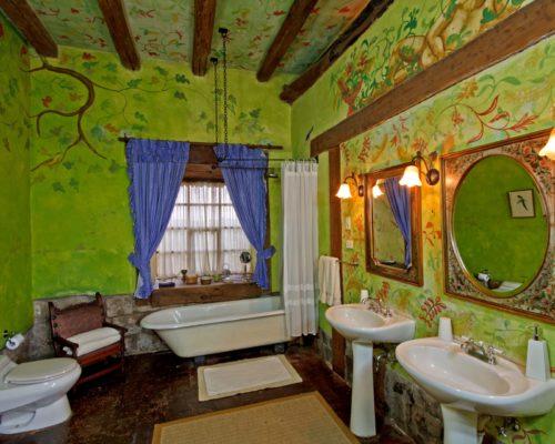 Kleurrijke Badkamer