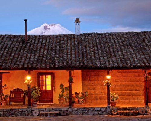 Hacienda San Agustin De Callo Andesgebergte Ecuador