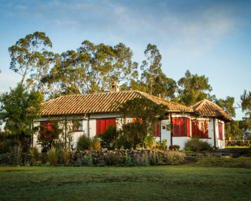 Koloniale Hacienda San Agustin Ecuador