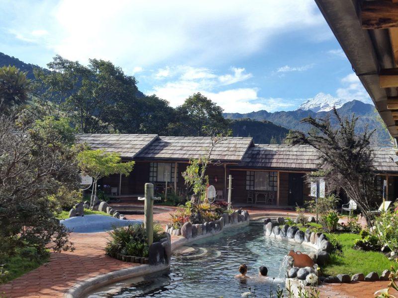Zwembaden Bij Termas De Papallacta