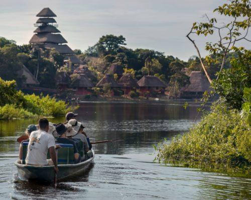 Unieke Lodge In De Amazone Van Ecuador