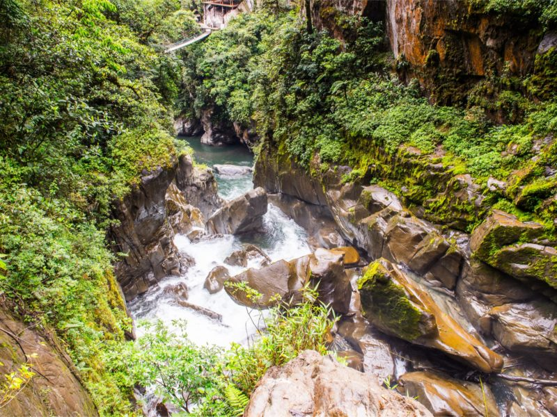 Watervallen Baños