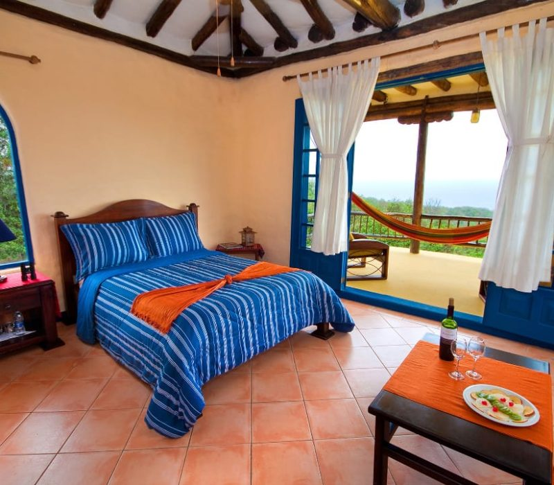 Tweepersoonskamer Mantaraya Lodge Puerto Lopez