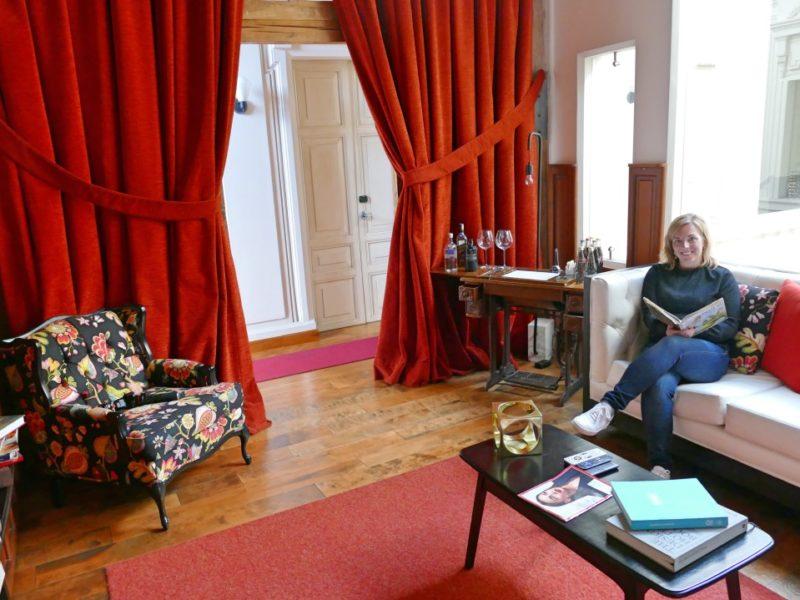 Hotel Carlota Leesruimte