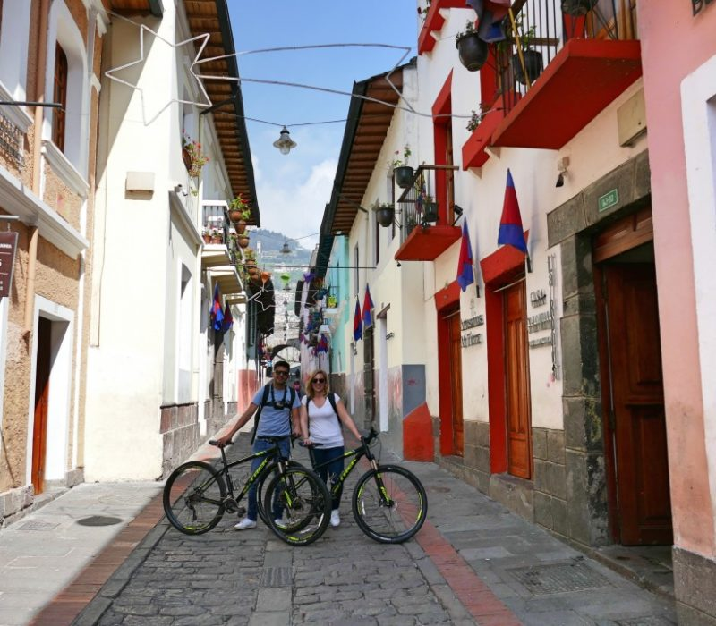 Fietstour In Quito La Ronda