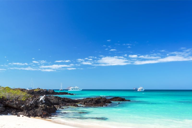 Luxe Reis Galapagos Santa Cruz Strand