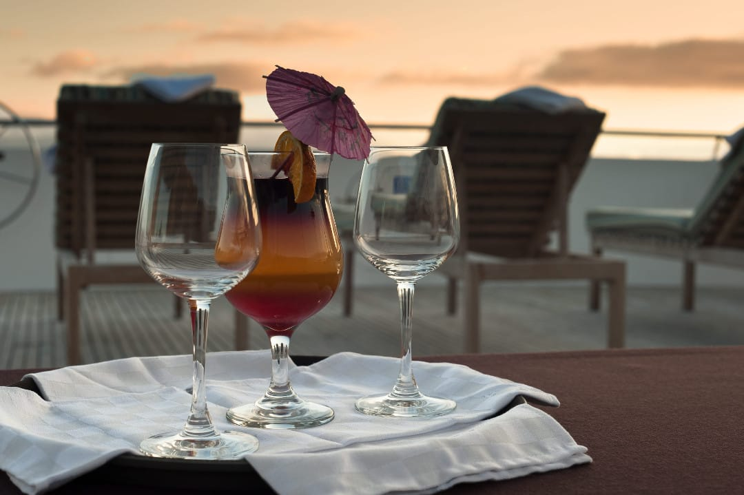Cocktail uurtje Galapagos