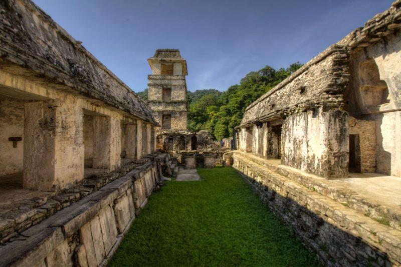 Maya Ruïnes Van Palenque Cultuurreis Mexico