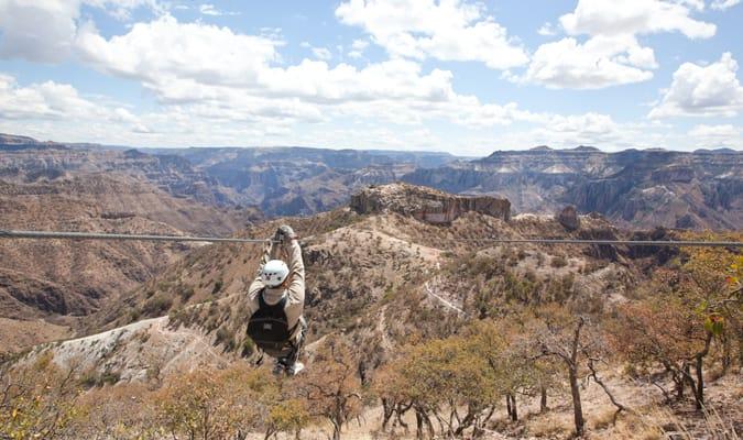 Mexico Copper Canyon Zipline