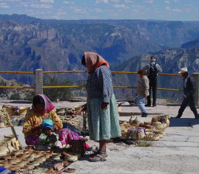 Lokale Markt In De Copper Canyon