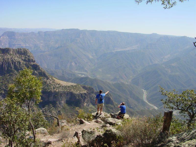 Treinreis Door De Copper Canyon