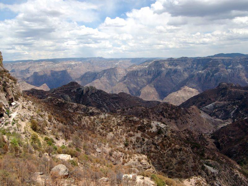 Uitzicht Op De Copper Canyon In Mexico