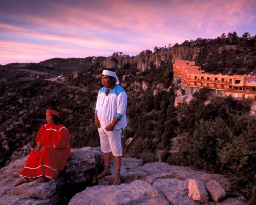 Tarahumara Bij Hotel Mirador