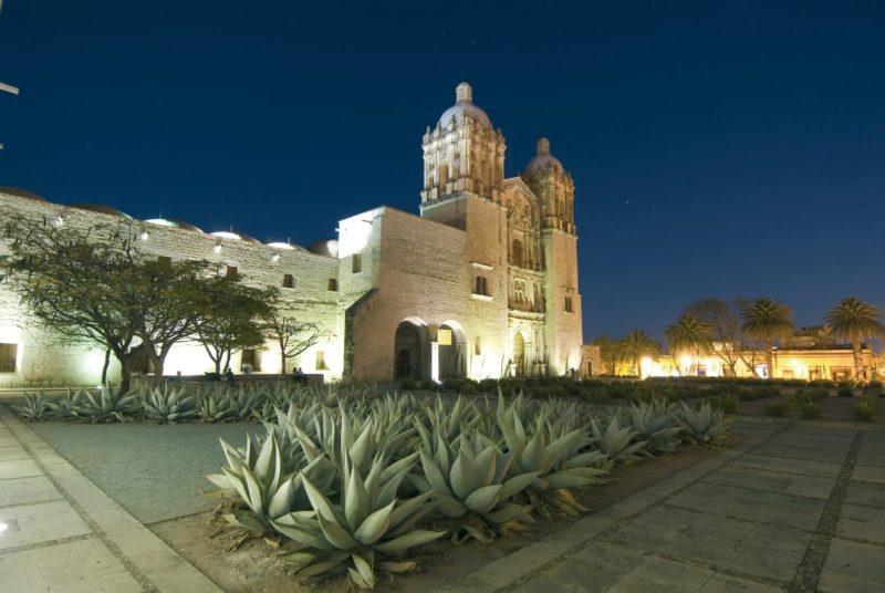 Mexico Oaxaca Templo De Santo Domigo De Guzman