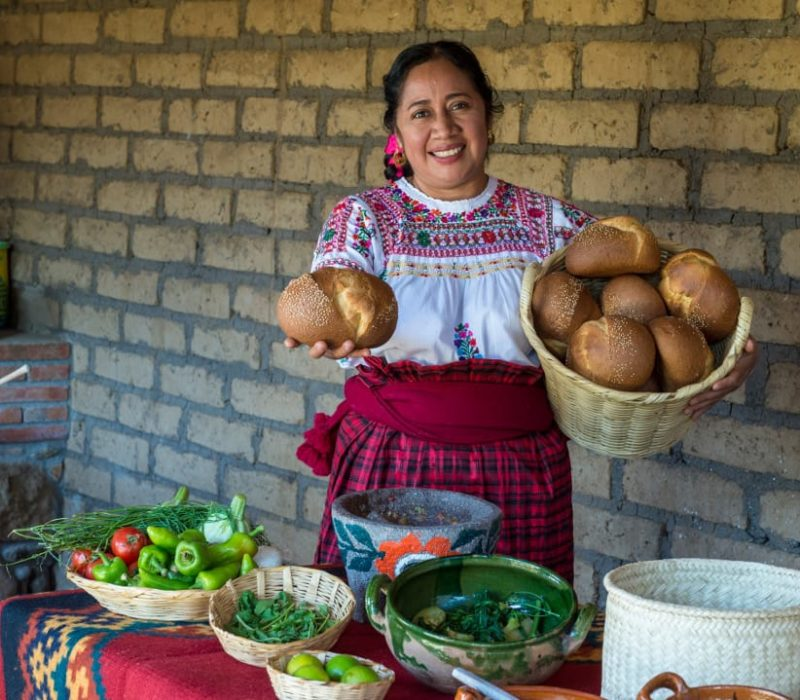 Culinaire Reis Door Mexico Oaxaca Lokale Markt