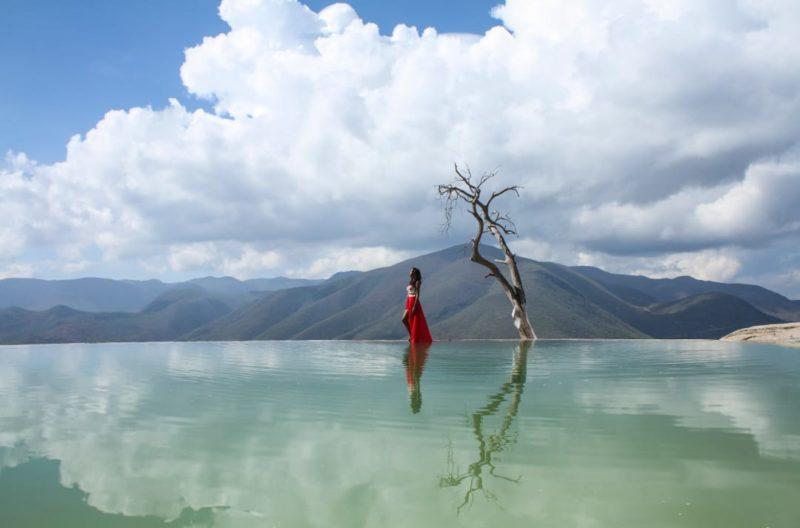 Mexico Oaxaca Hierve El Agua