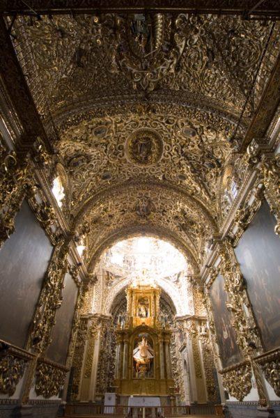 Mexico Puebla Iglesia Del Rosario