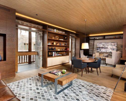 Bibliotheek In Hotel Cartesiano